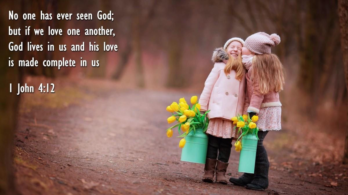 1 John 4:12