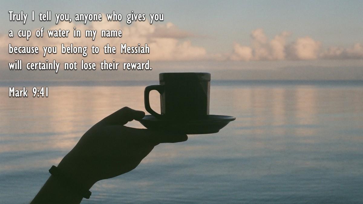 Mark 9:41