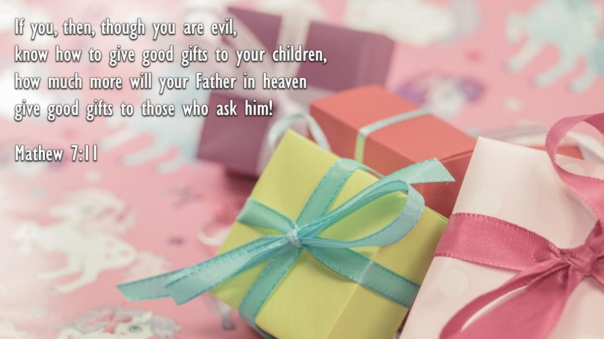 Mathew 7:11