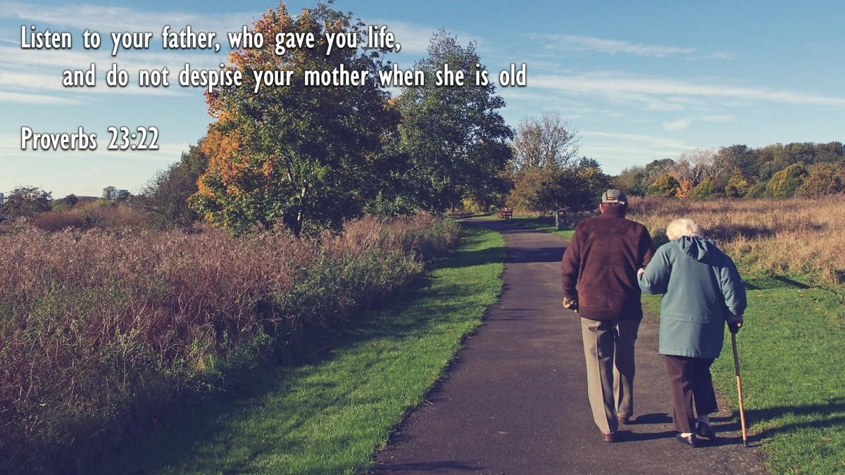 Proverbs 23:22