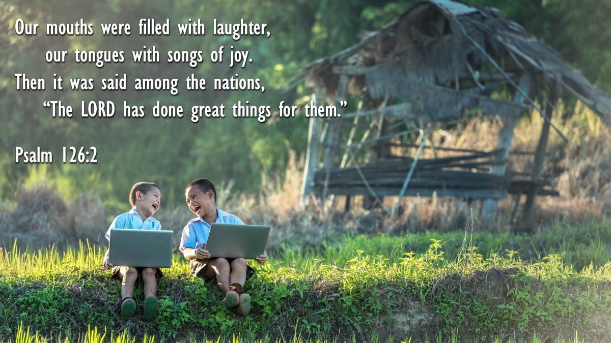 Psalm 126:2