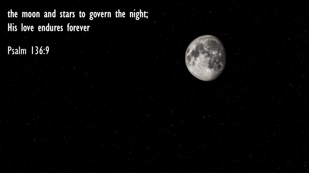 Psalm 136:9
