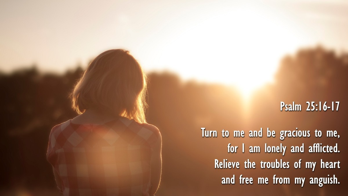 Psalm 25:16-17