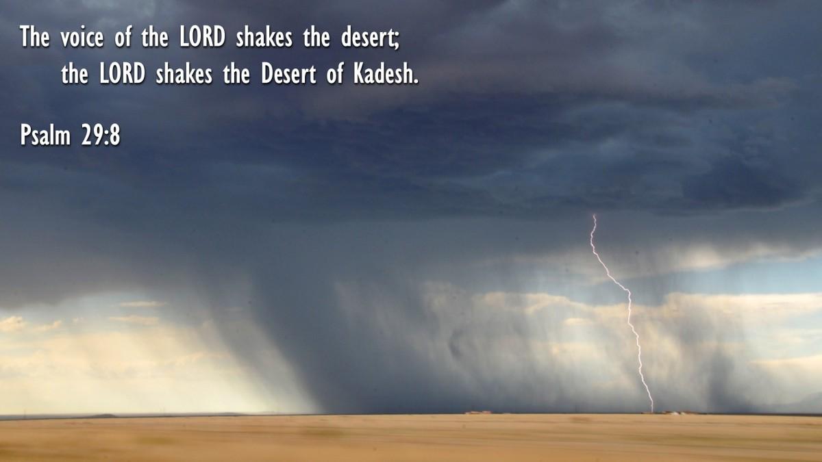 Psalm 29:8