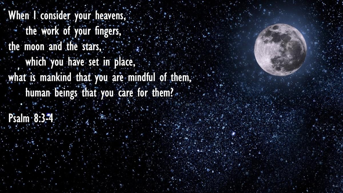 Psalm 8:3-4