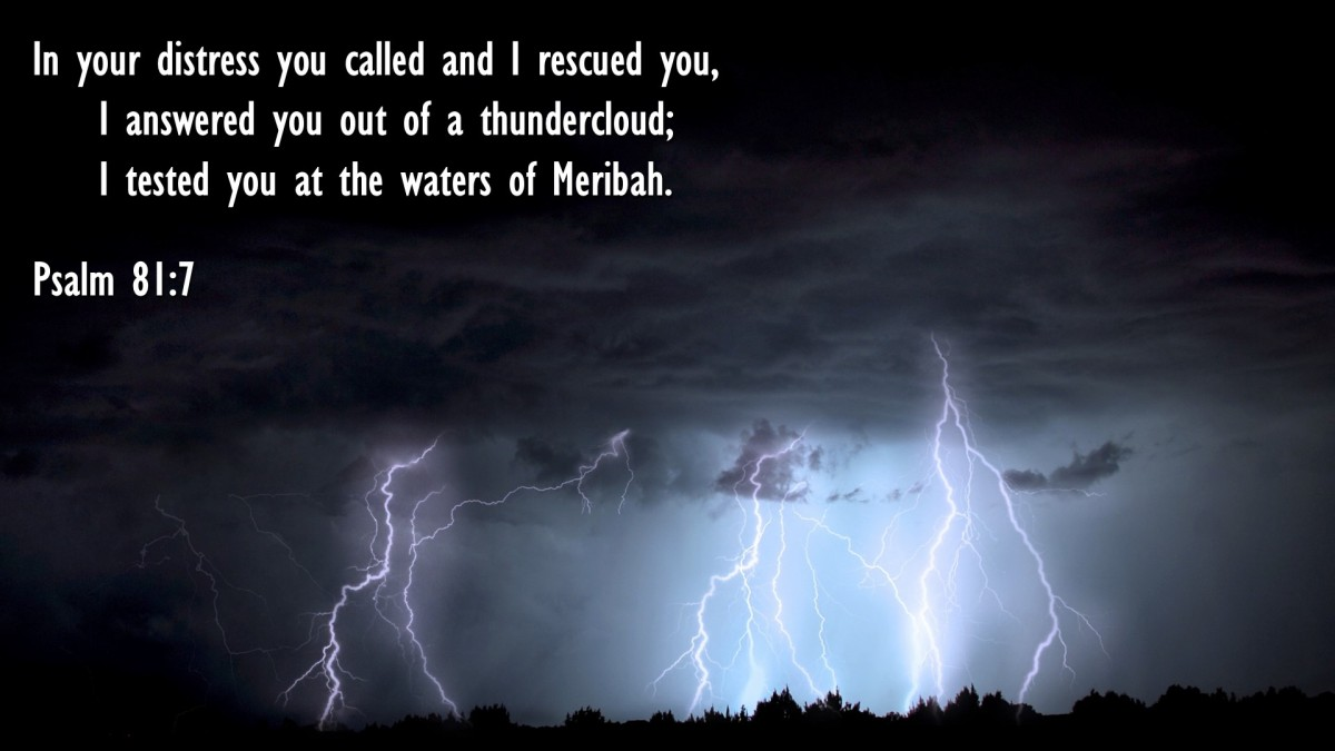 Psalm 81:7