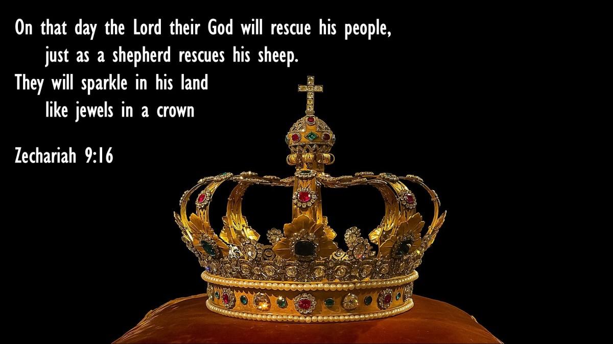 Zechariah 9:16