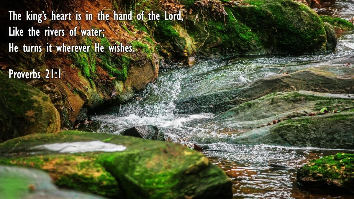 Proverbs 21:1