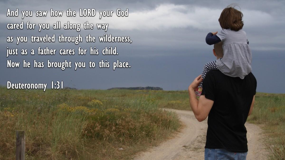 Deuteronomy 1:31