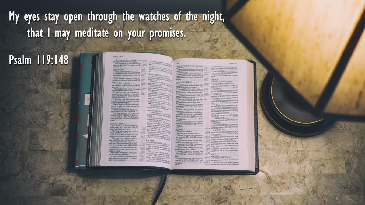 Psalm 119:148