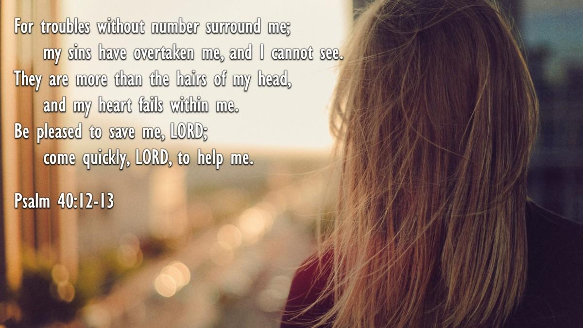 Psalm 40:12-13