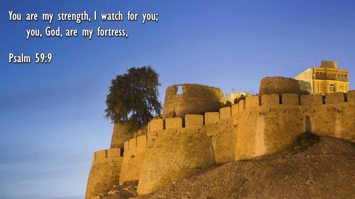 Psalm 59:9