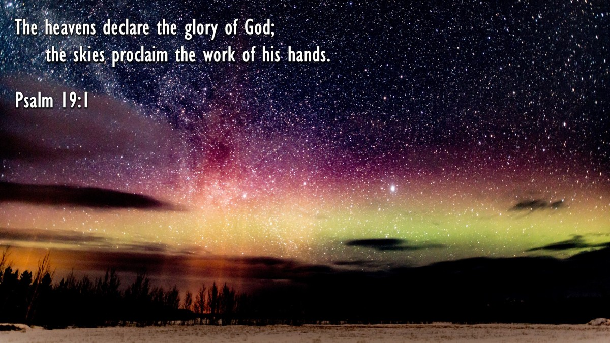 Psalm 19:1 – The Bible Wallpapers
