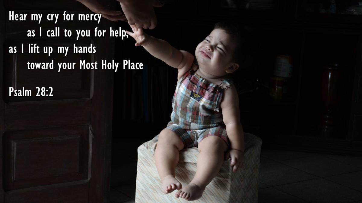 Psalm 28:2